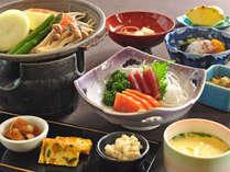 【夕食一例・憩いの四季プラン】お料理少なめでリーズナブル。ビジネスでのご利用にもどうぞ