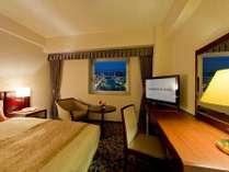 スタンダードシングルルーム:17~19平米、ベッド幅は120センチ