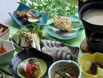 豊後水道からの新鮮な魚介類