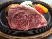 九州黒毛和牛A4以上を使用したステーキ。専用プラン他、「豊食三昧」でご提供しております。