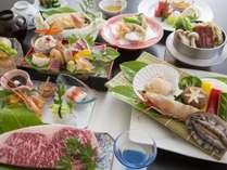 じゃらん限定【豊食三昧】大海老・ホタテ・九州黒毛和牛ステーキなど贅沢食材を堪能