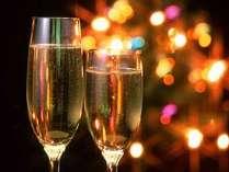 【クリスマス★3日間限定】今年最後のイベントは2人きりでほっこりクリスマス<ワイン&ケーキ>部屋食
