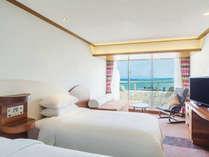 高層階ハイフロアデラックス 32-36平米【禁煙/6-8階】 上階から眺める景色は絶景です。