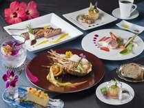【琉洋コース/夕食】 ※要事前予約、季節により内容は異なります