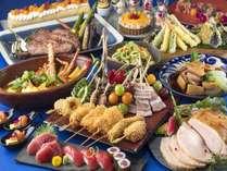 【夕食/サマープレミアム】お盆期間限定のスペシャルブッフェスタイルディナー ※写真はイメージです