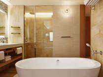 プレミアムオーシャンキング/ツイン マリーナ側客室バスルーム