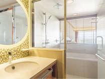 メインタワー客室バスルーム ※客室タイプにより、若干異なります