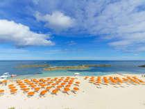 琉球の「碧」が美しいサンマリーナビーチ