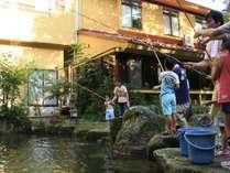 みんなでます釣りって楽しいね♪,岐阜県,岩寿荘