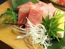 【飛騨牛料理指定店】ならではのさしが程よくはいった飛騨牛のお肉。お口の中でとろける旨さ♪,岐阜県,岩寿荘