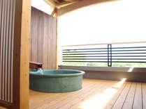 2011年7月16日OPEN!当館にも、やっと貸切露天風呂ができました。