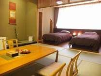 12畳+ツインベッドルームの南向き和洋室です!