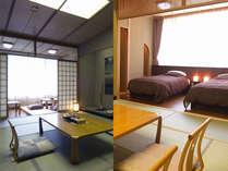 *お部屋おまかせ(和室か和洋室)当館の一般客室で12.5畳のゆったりした客室です