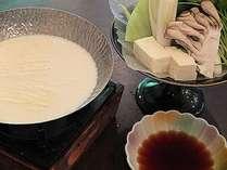 ヘルシーメニュー 日光湯波豆乳鍋