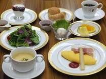 カロリー控えめのご朝食