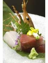 お料理の一例です「魚の盛合せ」