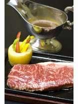 お料理の一例です「牛ステーキ」