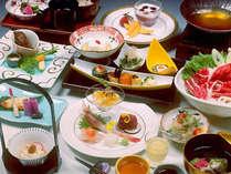 季節の懐石「千姫御膳」の一例