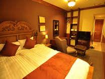 【ダブルルーム】全室内装や配置が異なっております。