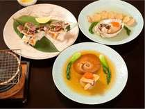 【部屋食確定 選べるメイン料理】♪豪華フカヒレ・アワビ・焼タラバからチョイスプラン 朝食はバイキング