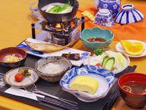 """【朝食付】一日のスタートは栄養満点の""""和定食""""から"""