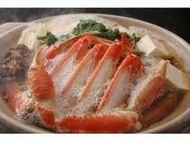 寒い夜にはやっぱりホッカホカの蟹すき鍋
