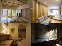 「別邸をりから」は2階立て造りの全て温泉付き和洋室。お部屋の指定がありましらご連絡下さい。