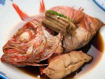 *金目鯛姿煮会席一例/金目鯛の姿煮