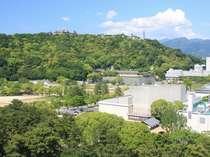 castle viewの部屋からの眺め◇松山城◇