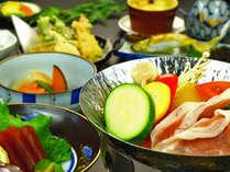 一番人気当館のスタンダード料理一例です。