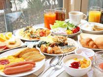 *【朝食ブッフェ】人気のイタリアンレストランが監修の朝食ブッフェ!本格的なパスタが人気です。