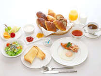 *【洋朝食一例】税込1200円・差額のご精算でランチへのご変更も可能です。