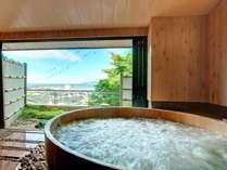 貸切露天風呂「ゆらら」(有料・要予約)の一例