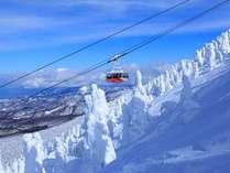 【冬の八甲田】厳しい自然環境が作り出したダイナミックな樹氷(スノーモンスター)