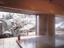 【大浴場】弘前の奥座敷で四季折々のぽかぽか湯治をぜひご堪能下さい