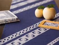 【津軽こぎん刺しイメージ】青森の伝統工芸をモダンにアレンジ
