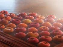 【秋冬】樹齢二千年古代檜の湯殿で果実風呂。非日常の体験が癒しを誘います。