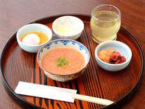 朝食バイキング 和歌山名物の茶がゆ