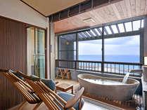 最上階露天風呂付客室ましらの アジアンタイプ