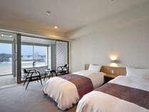 2017年3月 露天風呂付客室「浜水晶」フロアが三楽荘8階に登場 ※洋タイプ一例