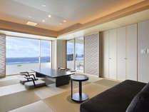 露天風呂付客室「浜水晶」特別室「紅の晶」(お部屋のタイプはお任せとなります)