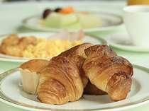 【朝食】焼きたてクロワッサンをお好きなだけどうぞ~朝食バイキング