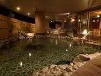 天望の湯~2階層の温泉フロア 合わせて10種類の温泉~ 男女フロアは日替わりで変わります。
