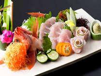 【海の幸堪能】新鮮獲れたてピッチピチ!伊豆・下田の豊かな恵みをお造りで「季節の地魚♪姿造りプラン」