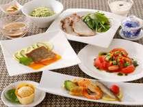○夕食 中国料理夏