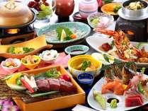【旬魚の5種盛×豊後牛ステーキ】会席