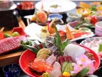 【記念日プラン】温泉天国別府にて本格会席「さくら」と「鯛の活造り」で記念日を祝う≪1泊2食≫