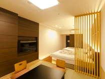 スタンダード和洋室/2013年リニューアルの和洋室です(26平米/和室4.5畳)
