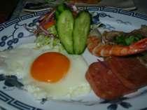 美味しそうな朝食