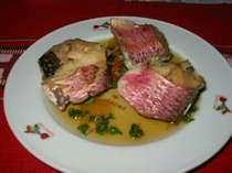 美味しそうな島魚の煮付け